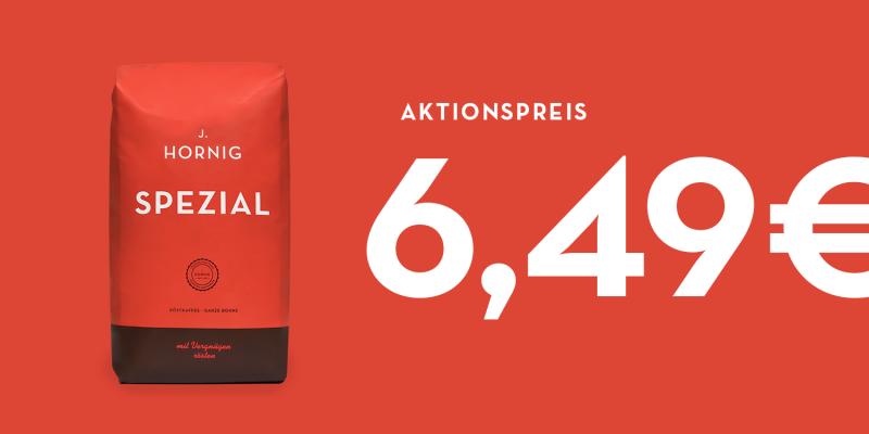 Aktionspreis J. Hornig Spezial