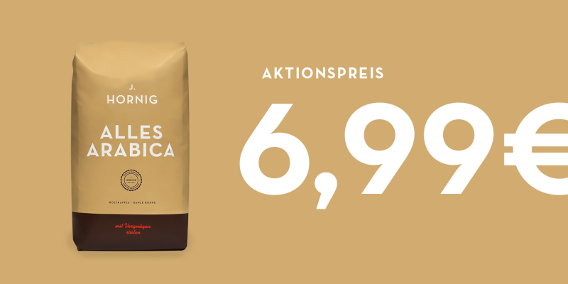 Alles Arabica Ganze Bohne Aktion