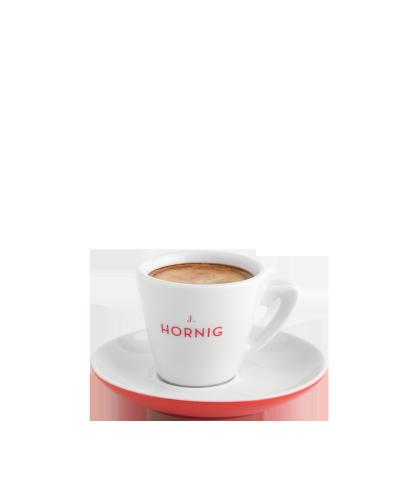 Espressotasse & Untertasse Rot