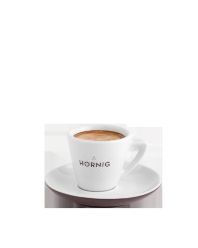 Espressotasse & Untertasse Braun