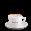 Cappuccinotasse & Untertasse Braun