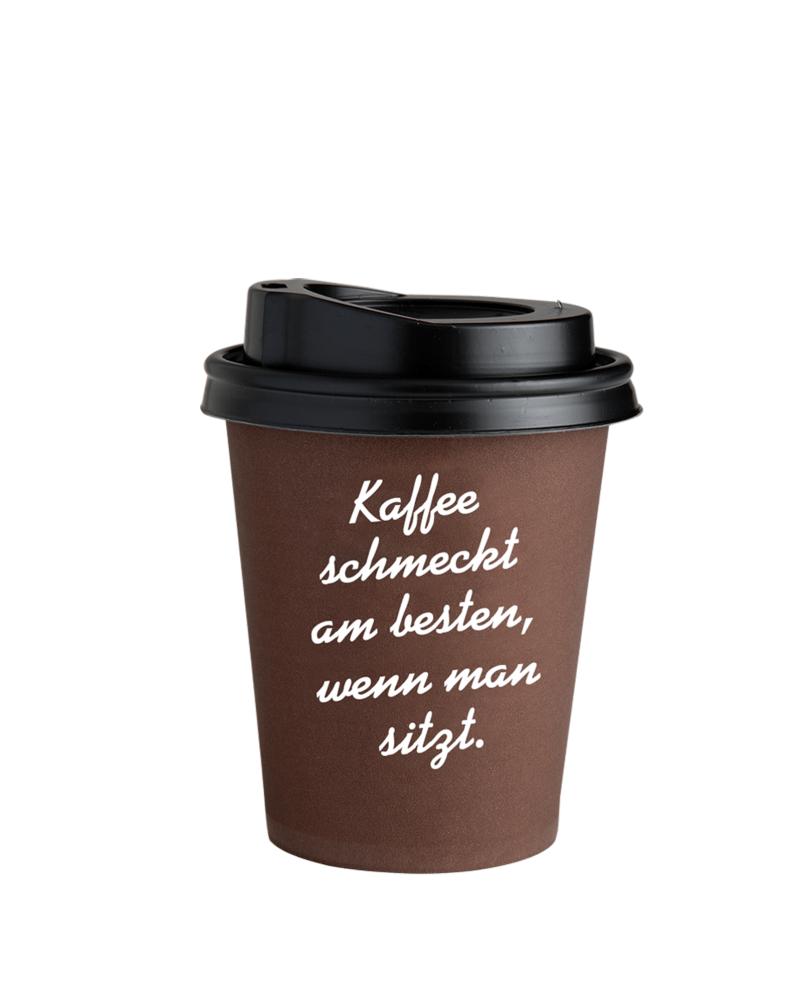 Coffee to go becher braun 0 3 zubeh r j hornig for Coffee to go