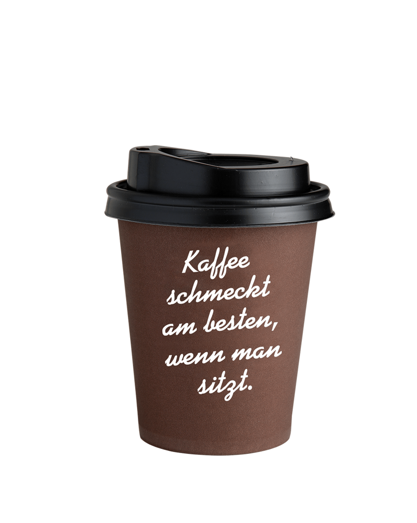 Coffee to go becher braun 0 3l zubeh r j hornig for Coffee to go