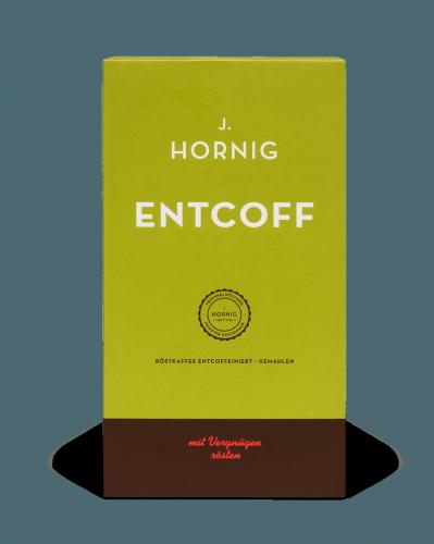 Entcoff | Kaffee Gemahlen | J. Hornig