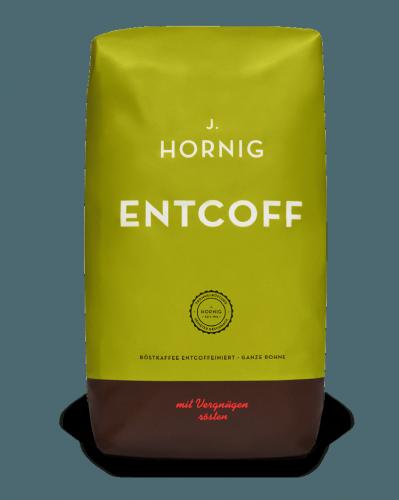 Entcoff | Kaffee Ganze Bohne | J. Hornig