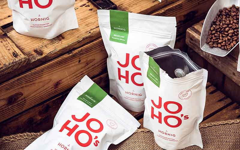 JOHO's Direkt Trade Spezialitätenkaffee