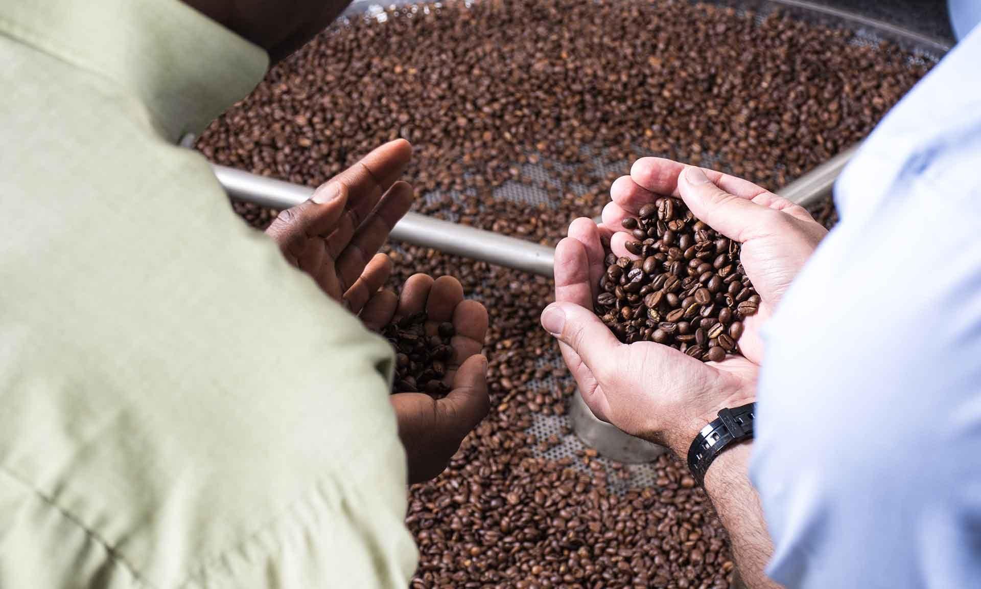 Kaffee Tag des Kaffees