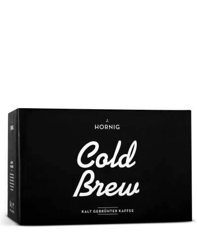 Cold Brew im 18er-Tray | Kaffee | J. Hornig