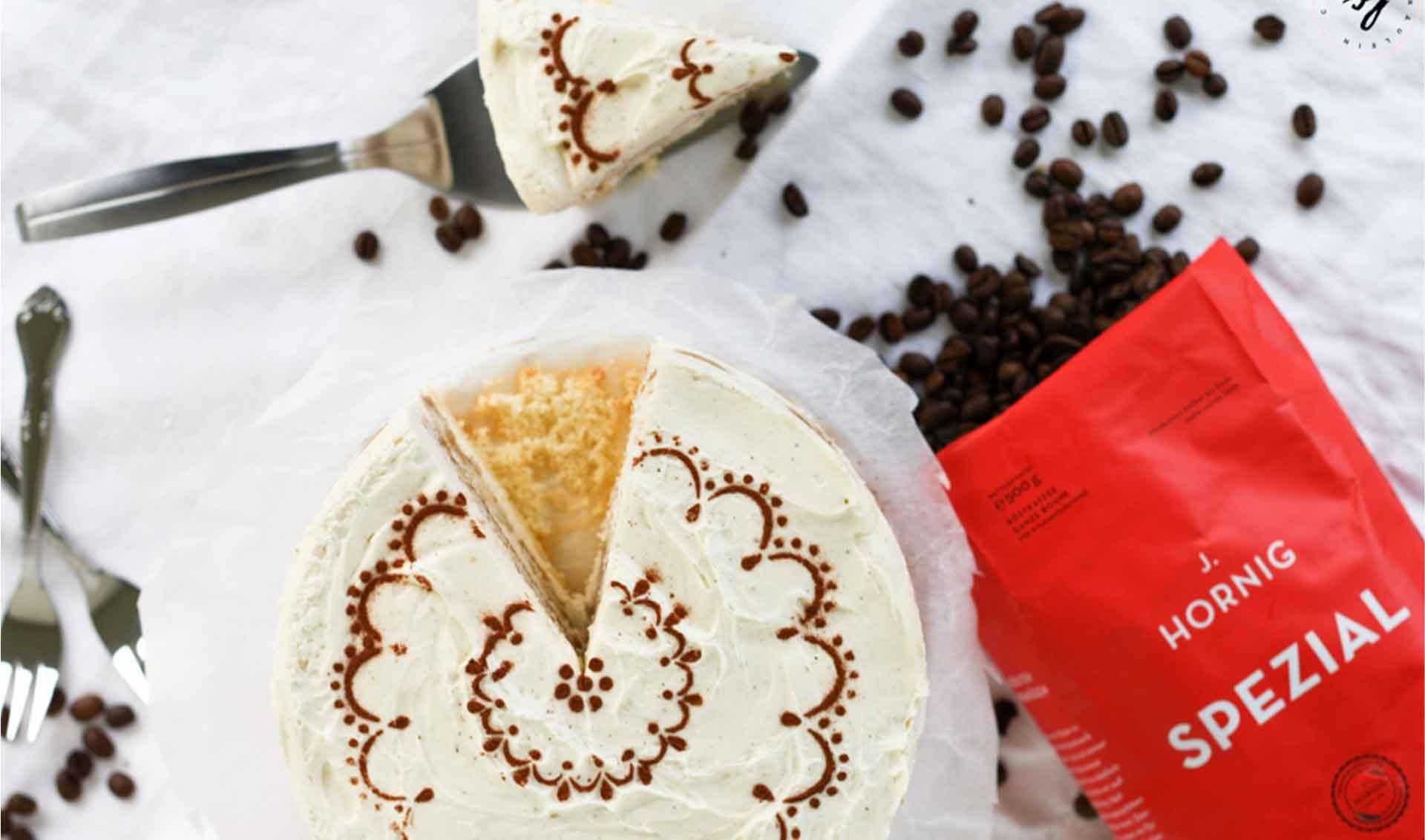 Tiramisu Torte mit J. Hornig Spezial von Fräulein Cupcake