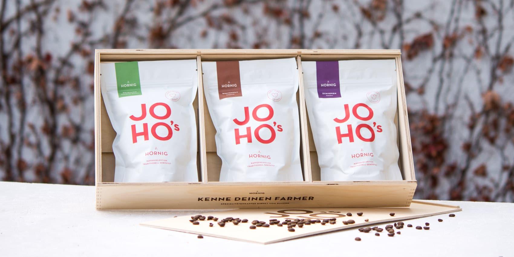 Sieben Geschenke-Tipps für Kaffeeliebhaber. JOHO's Geschenkebox von J. Hornig